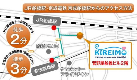 キレイモ船橋店